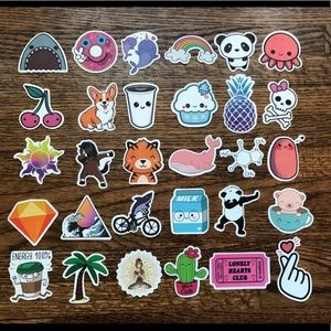 Stickers! (Multiple pages)